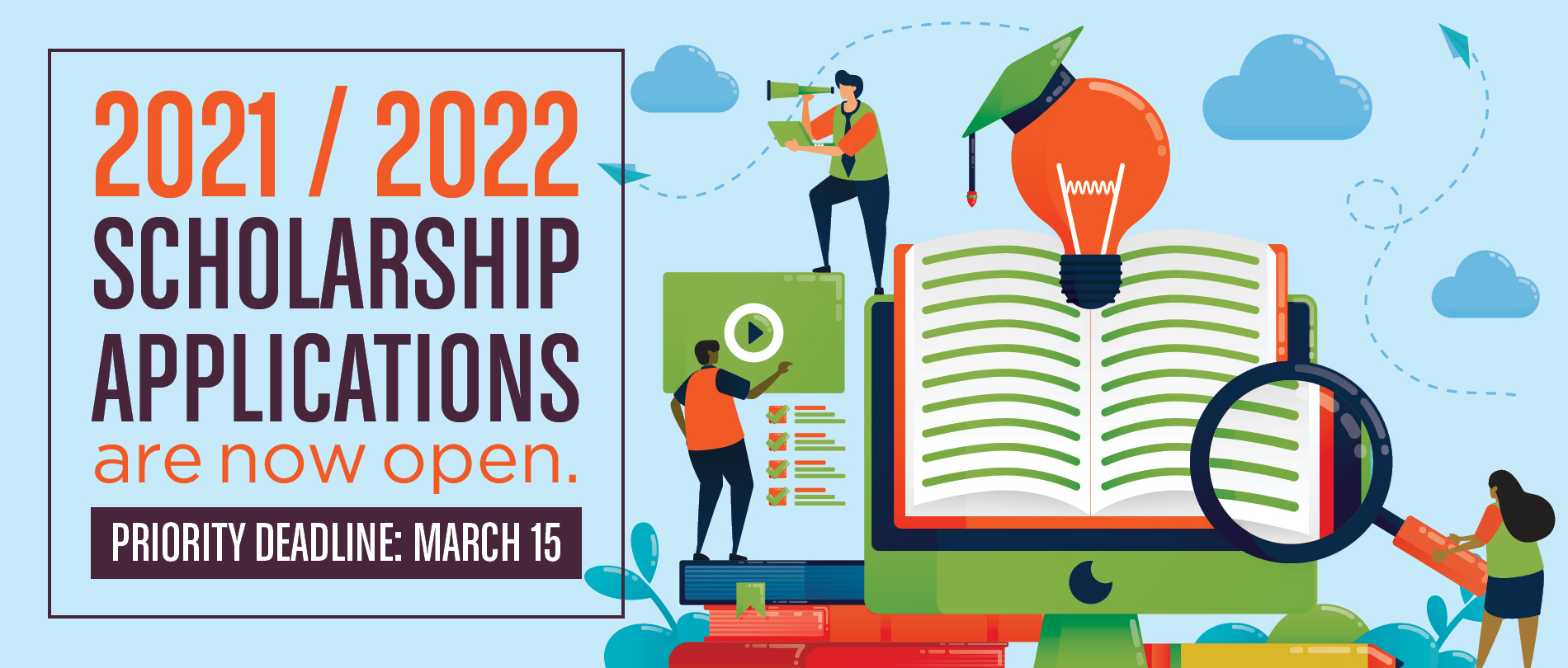 2021-2022 Scholarship Applications are now open