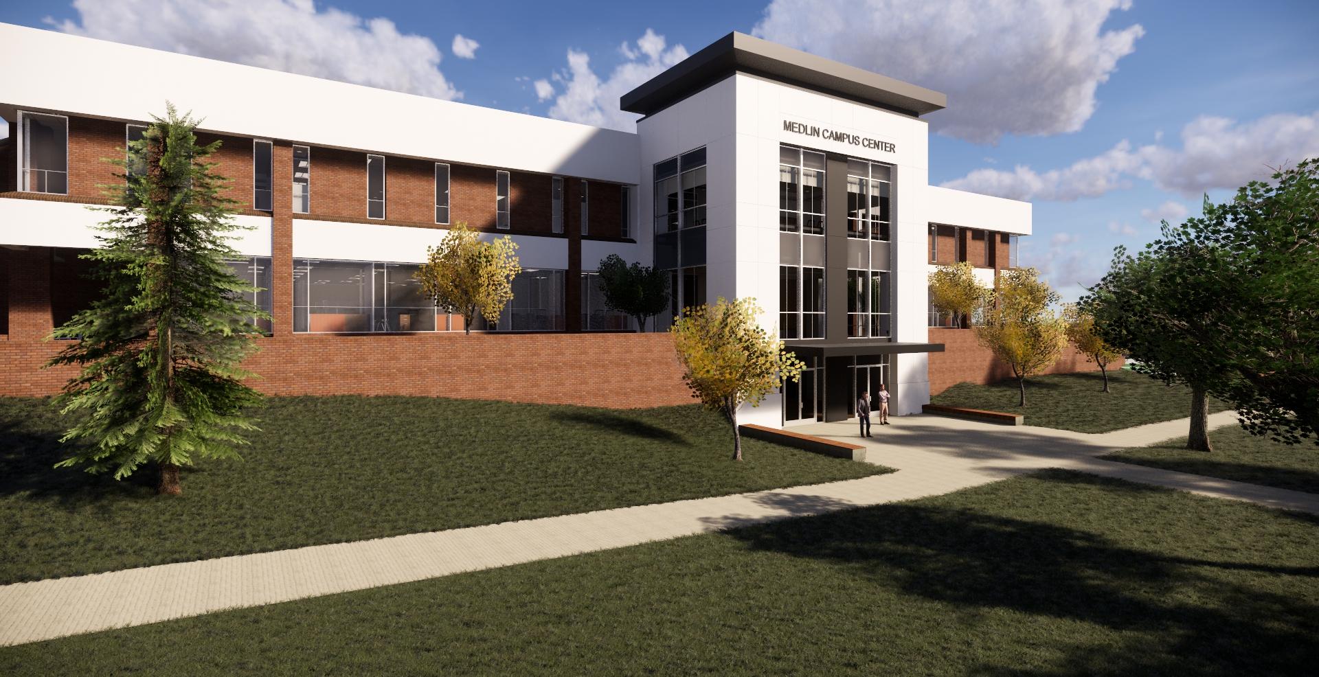 Image result for gtcc medlin campus center